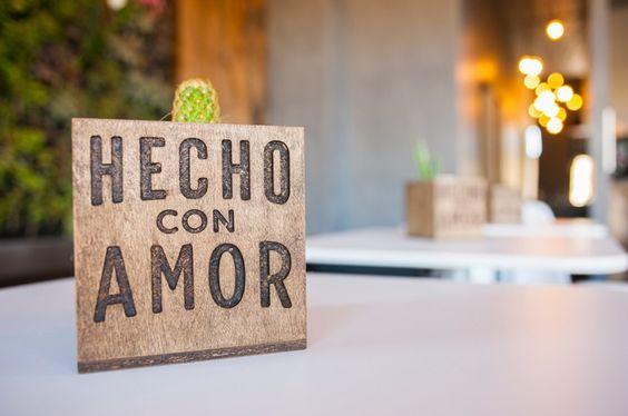 Hecho Con Amor cafe branding