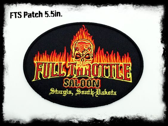 FTS 5.5in Flame Patch – Full Throttle Saloon