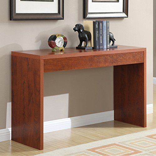Basic Square Hallway Console Table Made Of Composite Wood With A
