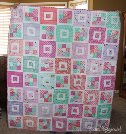 Short Cake Quilt made with Posy