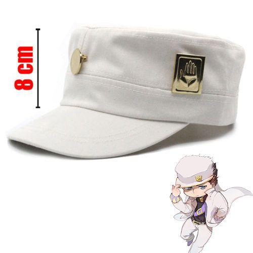 Anime JoJo/'s Bizarre Adventure Jotaro Kujo Ver.//Joseph Ver Cap Badge Hat New