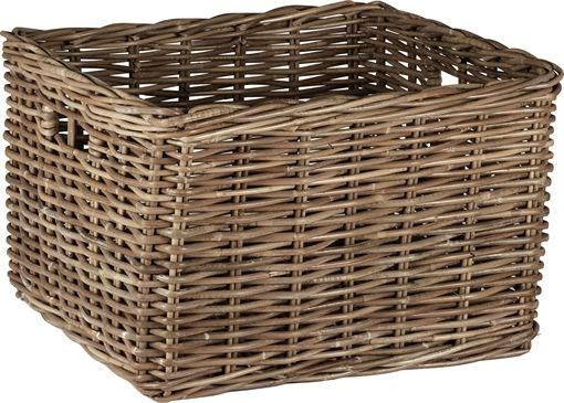 Somerton Woven Rattan Laundry Basket Neptune Laundry Room