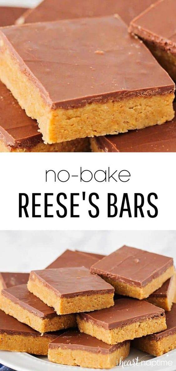 Homemade Reese's Bars