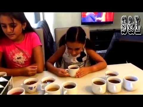 Челлендж Айс Ти угадай вкус фруктового холодного чая Ice Tea Challenge S...