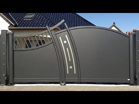 100 Modern Gates Designs 2020 Ideas Hashtag Decor Youtube In 2020 Steel Gate Design Home Gate Design Gate Design