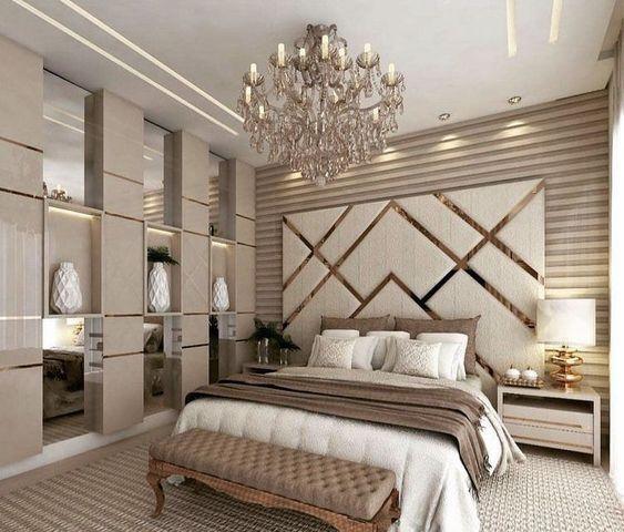 تصاميم عصرية لغرف نوم راقية وفخمة 2019 Fancy Master Bedroom Design Ideas Classic Bedroom Design Modern Luxury Bedroom Bedroom Furniture Design