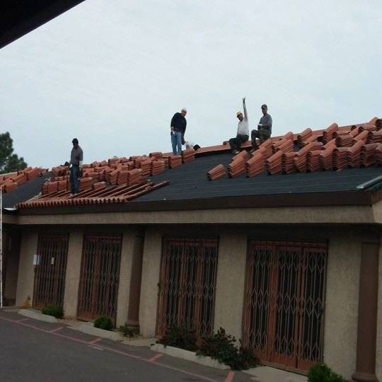 Steps To Repair A Concrete Tile Roof Concrete Tiles Roof Cost Roofing Services