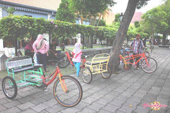 Fasilitas sepeda untuk keliling Museum