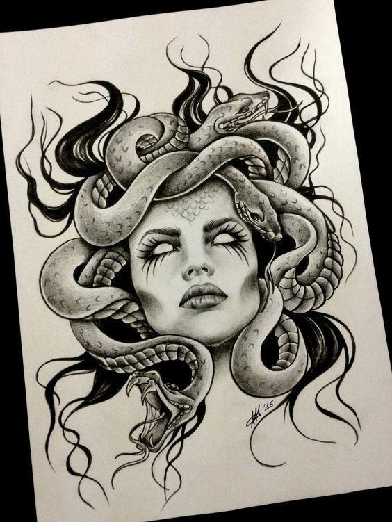 Zeus Dibujo A Lapiz Buscar Con Google Neattattoosiwouldhave Tatuajes De Medusas Media Manga Tatuaje Brazos Tatuados