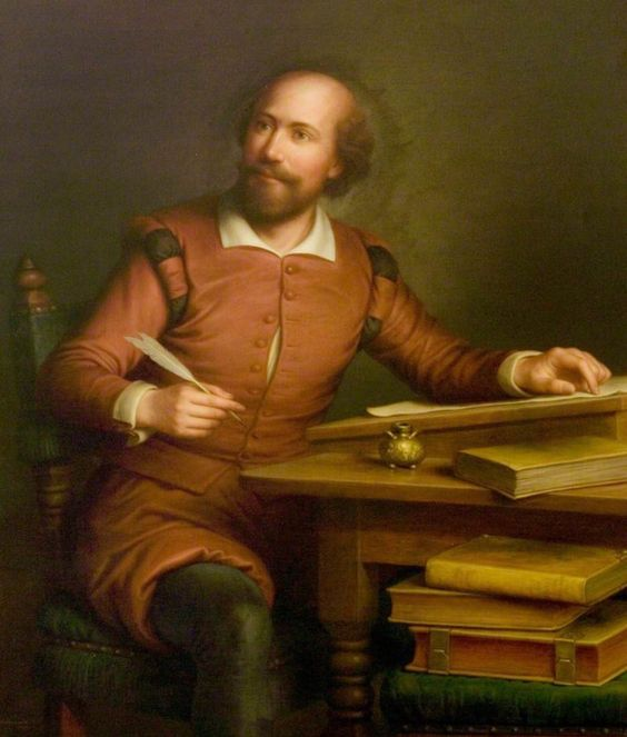 Devise, wit; write, pen; for I am for whole volumes in folio.  ~ William Shakespeare  Painting: An Ideal Portrait of William Shakespeare by George Henry Hall
