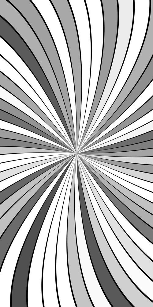 Grey Psychedelic Abstract Striped Vortex Background Design