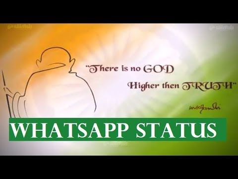 Gandhi Jayanti Status Video Free Download For Whatsapp
