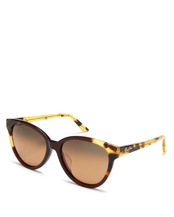 Maui Jim Sunshine Cat Eye Sunglasses, 56mm