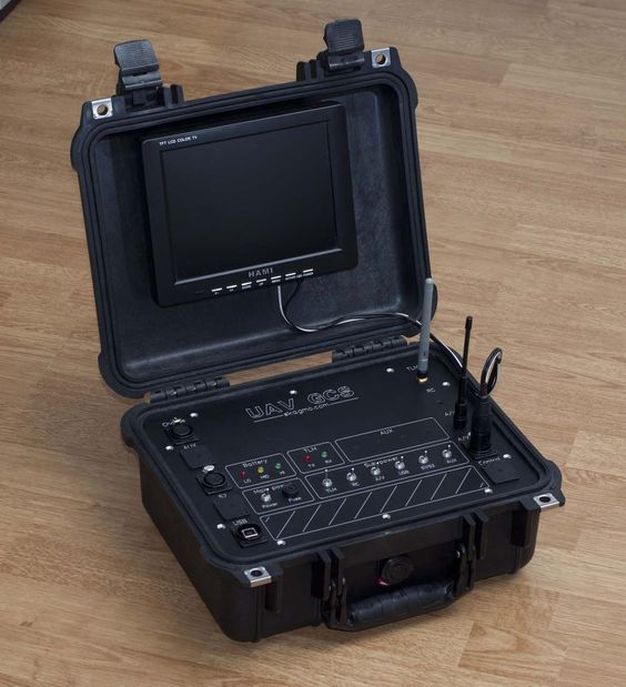 UAV/FPV-project: The ground control station