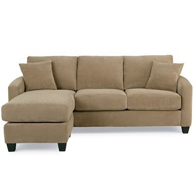 Tribecca sofa with ottoman jcpenney home is where the for Sectional sofas jcpenney