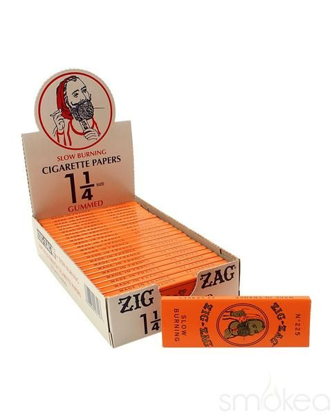 Can You Get High From Smoking Paper Zig Zag Orange 1 1 4 Rolling Papers Rolling Paper Paper Zig Zag