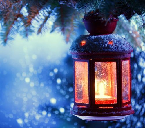 Lass dich ein, im Winter besinnlich zu sein! ♥   We Heart It   winter, light, and snow
