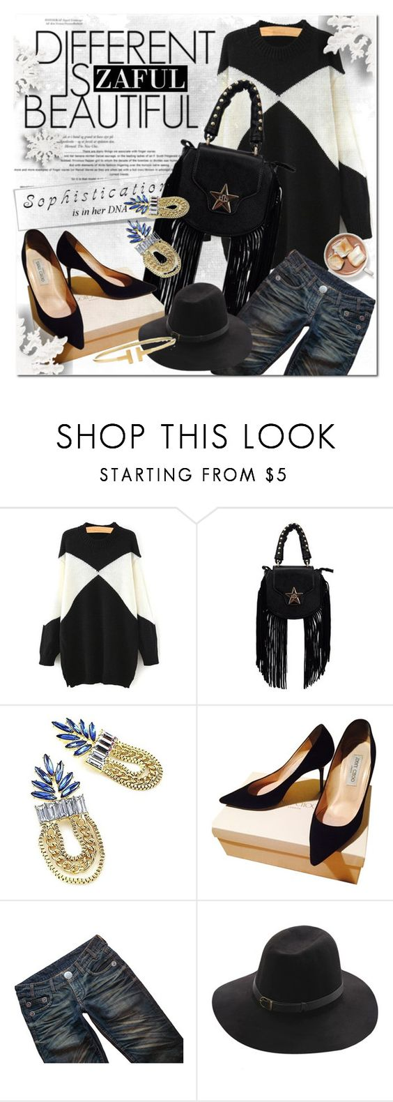 """""""Be a strong women"""" by vanjazivadinovic ❤ liked on Polyvore featuring Jimmy Choo, Thomas Wylde, CO and zaful"""