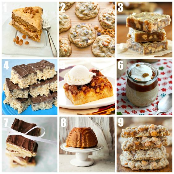 Butterscotch Recipes: sweet, chewy, and delicious desserts • CakeJournal.com: Delicious Desserts, Dessert Recipes, Recipes Sweet, Desserts Cakejournal, Baking Recipes, Chewy Sweetness, Favorite Recipes, Butterscotch Recipes