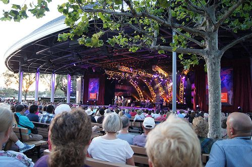 Image result for The America Gardens Theater free concerts