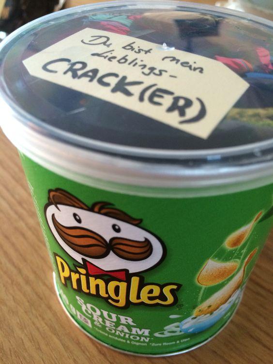 Geschenke für den Freund/Schatz // Nerd Love // süsse geschenke zum jahrestag // Pringles