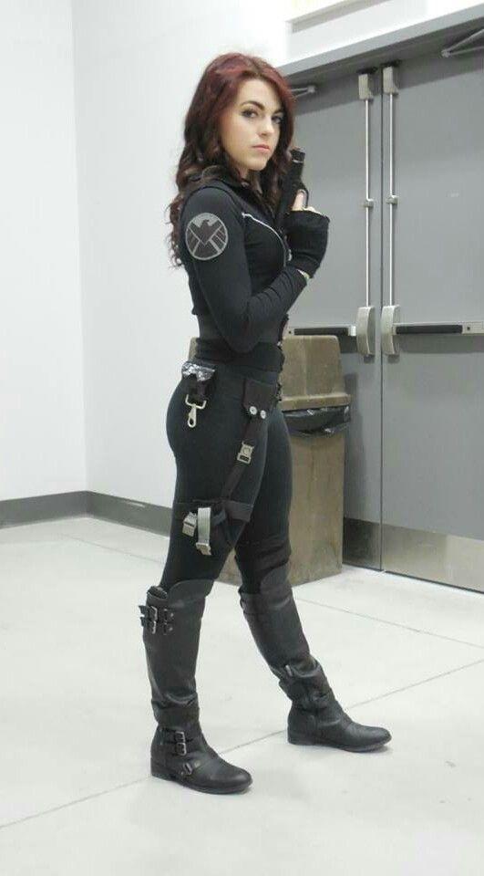 Viuda Negra (Black Widow) #Cosplays #Marvel
