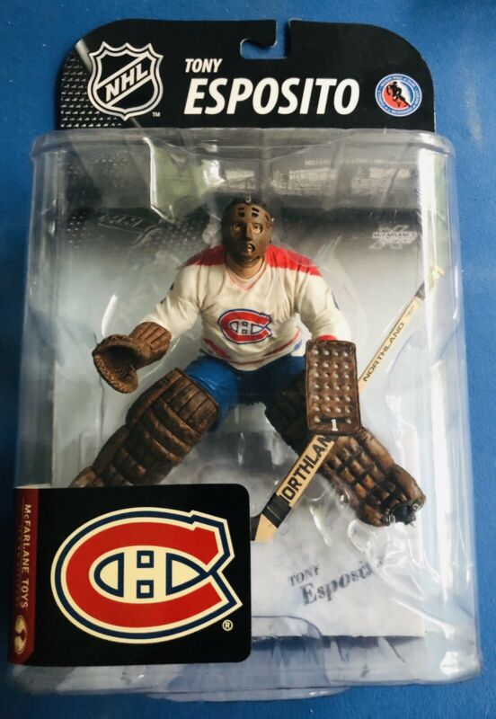 Tony Esposito Montreal Canadiens Goalie Mcfarlane Toys Nhl Hockey Figure Nib Montreal Canadiens Ebay Nhl