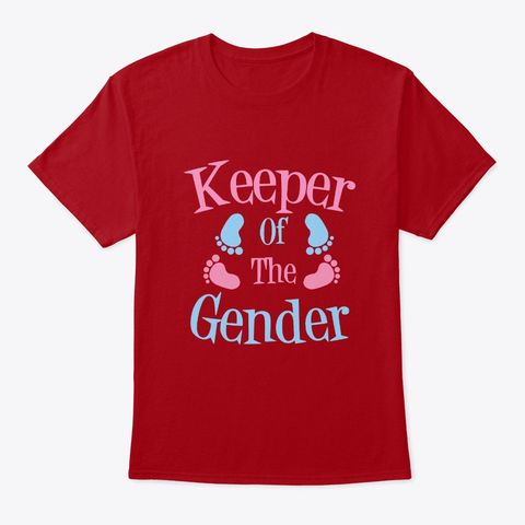 Keeper Of The Gender Reveal Products From Mother S Day Gift Giving Shop Teespring Mens Tops Mens Tshirts T Shirt