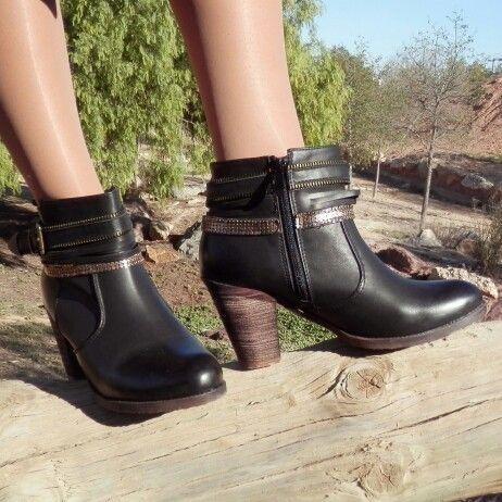 Mis nuevos botines de Qué Guapa!