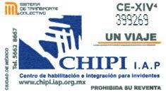 Para difundir el Centro de habilitación e Integración para Invidentes, Institución de Asistencia Privada, el Sistema de Transporte Colectivo emitió un tiraje de boletos.