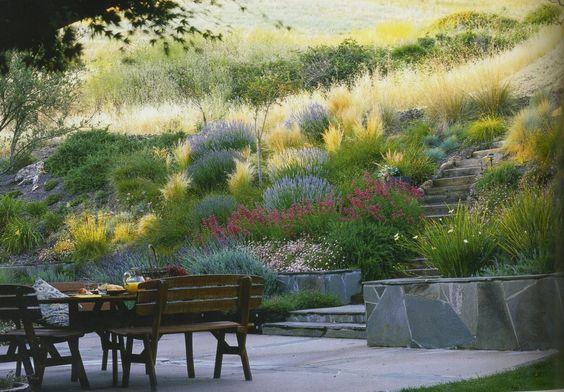Arrière-cours, Paysages and Aménagement de jardin on Pinterest