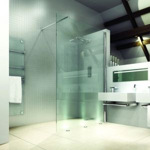Merlyn Shower Screen With Uplight Feature