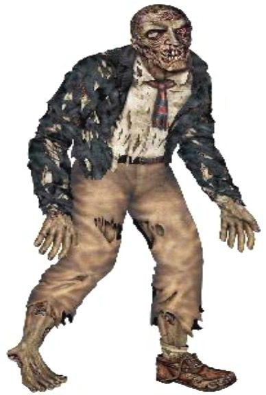 Here's someone you wouldn't want to meet on a dark night! Life size jointed zombie cardboard cutout decoration. So lifelike it can even be arranged in different poses!