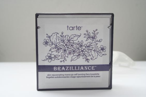 tarte- Brazilliance tanning wipes 3 ct.- BN