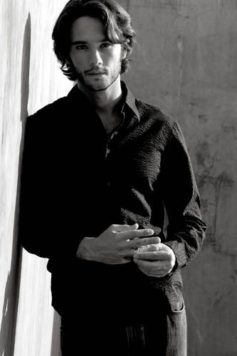Hott Carl from Love Actually!  Rodrigo Santoro...apparently he's still in movies like 300 and What to Expect When You're Expecting