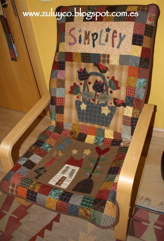Funda silla ikea pello frente patrones zulu and co - Funda sofa ikea ...