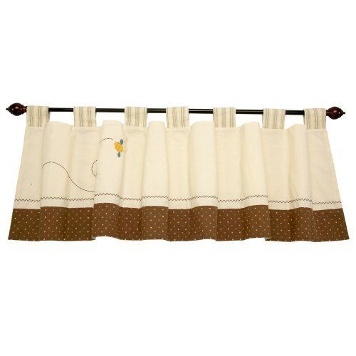 Disney Pooh Pooh's Day In The Park Window Valance, Brown/Ivory by Crown Crafts, http://www.amazon.com/dp/B002UHKG3C/ref=cm_sw_r_pi_dp_27yZrb12DRW63