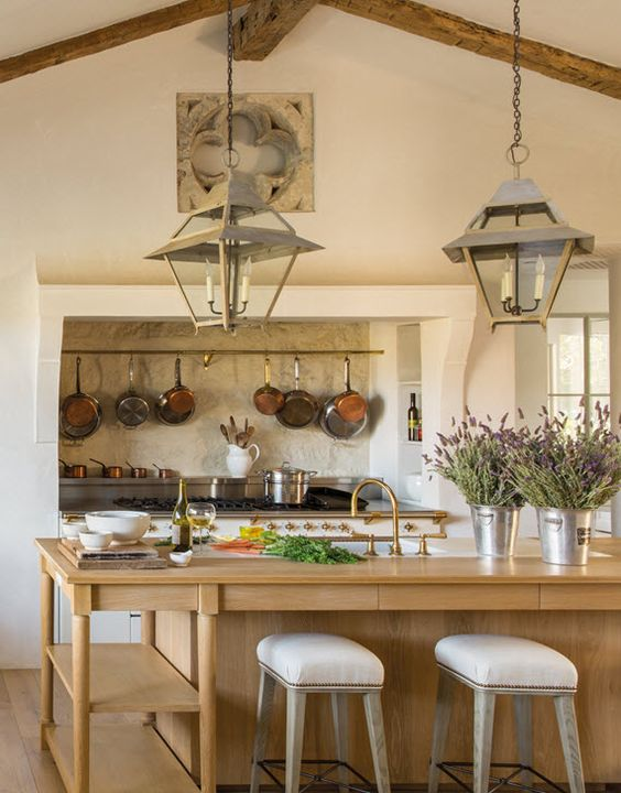 kitchen featuring Lacanche range // steve and brooke giannetti // patina farm…