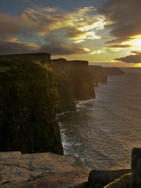 The Cliffs of Moher, Ireland, location for Harry Potter