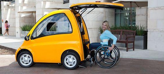 Conheça o veículo elétrico inovador que está revolucionando a vida de cadeirantes