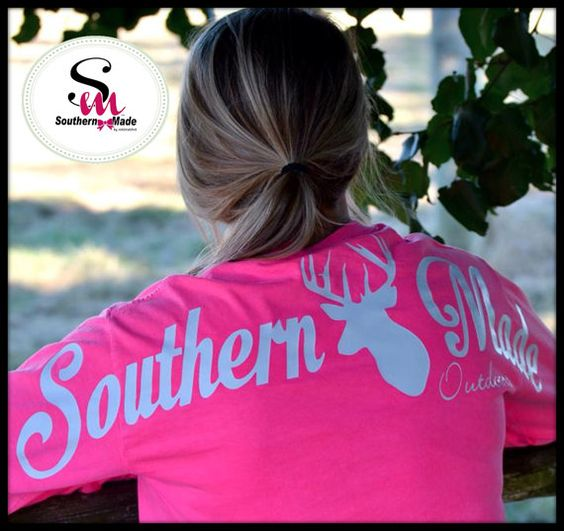 Southern Made Outdoors Collection Long by SouthernMadeShirts