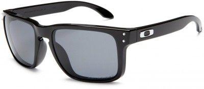 Óculos Oakley Men's Polarized Holbrook Polished Black Grey Polarized OO910202 #Oculos #Oakley