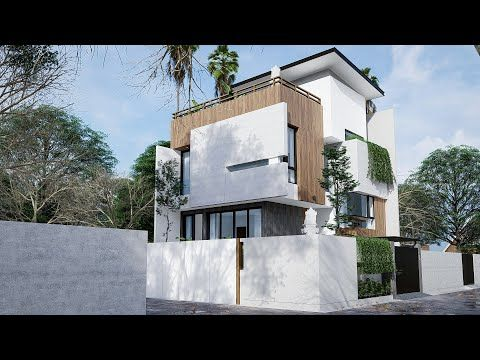 Split Level House 10m X10m Site Project Showreel Youtube Rumah Arsitektur Desain Rumah