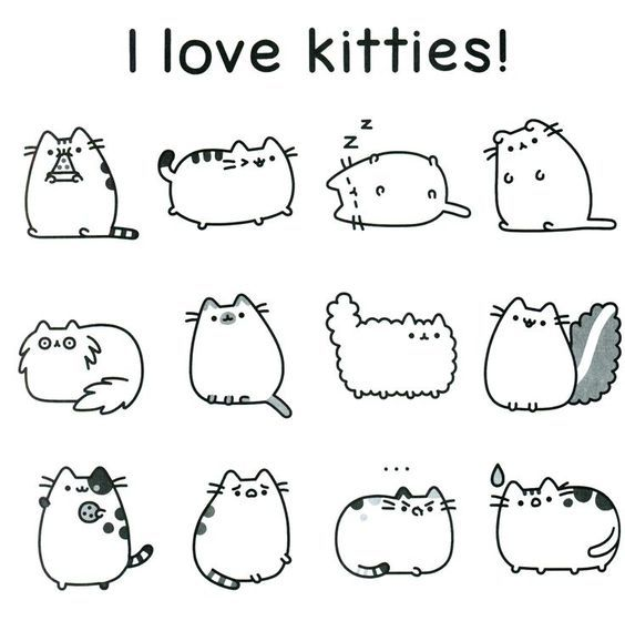 Pusheen Coloring Pages Free Coloring Page Pusheen Coloring