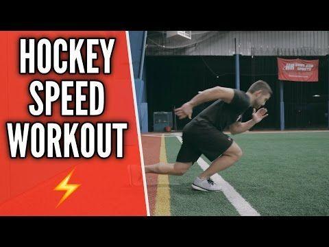 Hockey Training Workout Off Ice Quickness Drills Youtube Agilityworkouts Eishockey Hockey