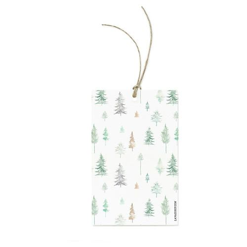 Peaceful Forest Gift Wrap Set of 3 Illustrated Peaceful Forest Sheets