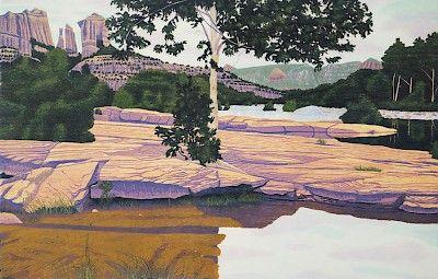 Gordon Mortensen : Red Rocks, 1987