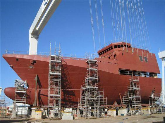 Construcción buque mercante