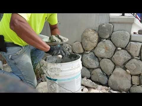 Tutorial Como Pegar Piedra Youtube Uñas Con Piedras Muros De Piedra De Imitación Trabajos De Albañileria