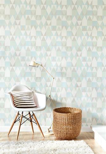majvillan tapet alice gr mint gr n tapeter tapeter. Black Bedroom Furniture Sets. Home Design Ideas